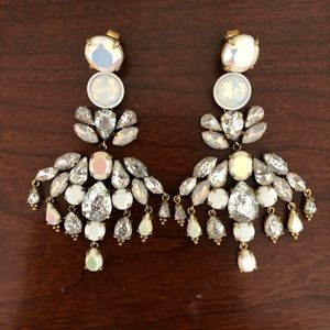J. Crew Crystal Chandelier Earrings